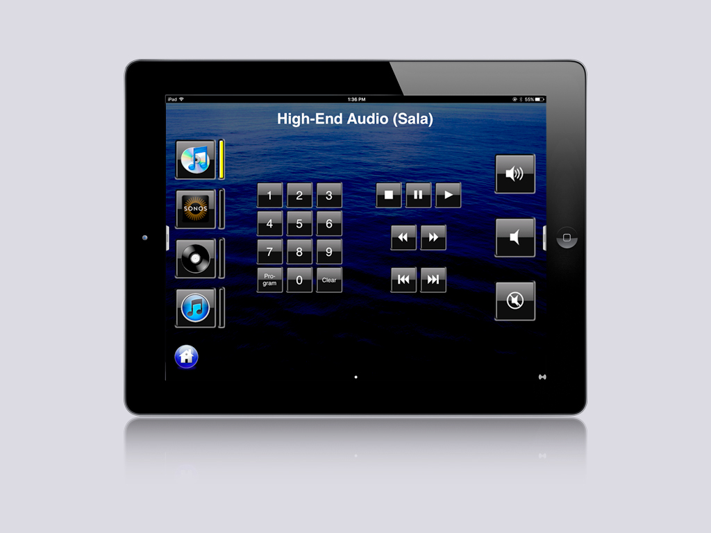 OnControls Esquema Hi-Fi 1L iPad